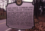 Cane Ridge Cumberland Presbyterian Church, Antioch, Tennessee, n.d.