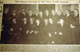 1940 Officers installed at Elks' new $14,000 quarters, from the Nashville Times, 1940